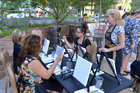 Painting parties popular in Las Vegas valley