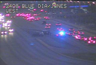 Motorcyclist seriously hurt in SW Vegas crash