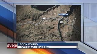 Body found on U.S. 93, Hoover Dam exit 172