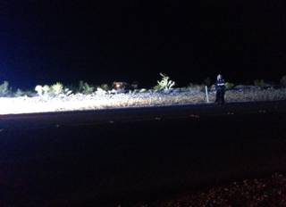 1 dead, 1 injured after rollover near Red Rock