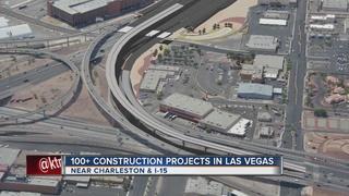 Over 100 construction sites across Las Vegas