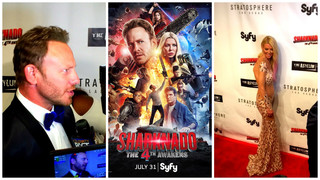 Vegas red carpet, party for 'Sharknado 4'
