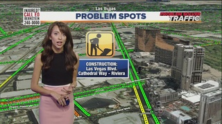 TRAFFIC TROUBLES: Construction around the valley