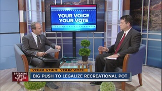 Ralston talks about measure to legalize pot