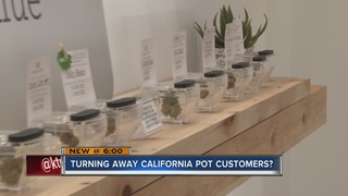 Attorney general says no pot for some visitors