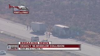 UPDATE: Juvenile killed in crash on I-15