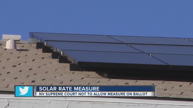 Nevada Supreme Court Denies Solar NEM Referendum