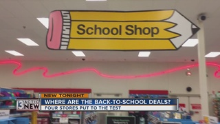 School supplies: Where are the best deals?