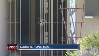 SQUATTERS: Woman says squatter's dog charged her