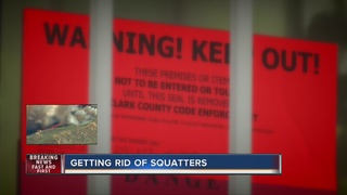 SQUATTER SPOTTERS: Getting rid of squatters