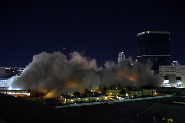 PHOTOS: Final implosion of Riviera hotel-casino