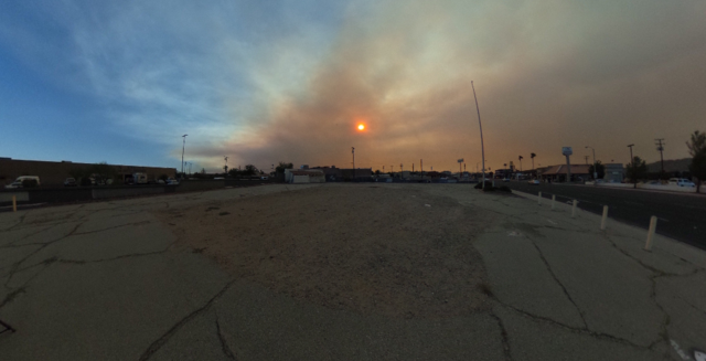 GALLERY: Smoke from the Blue Cut Wildfire