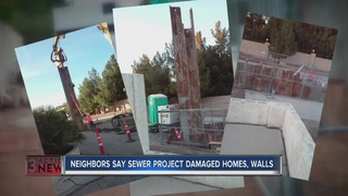 CONTACT 13: Homeowners blame project for damage
