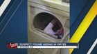 California suspect found hiding in dryer