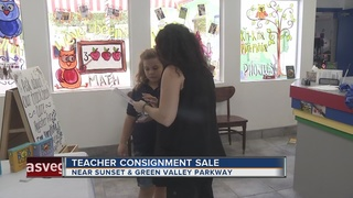 'Sharing is Caring' sale held for teachers