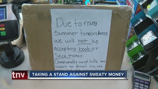 This gas station doesn't want your sweaty money