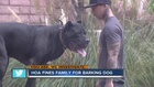 YOU ASK: Family says HOA hates their big dog