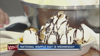 Celebrate National Waffle Day!