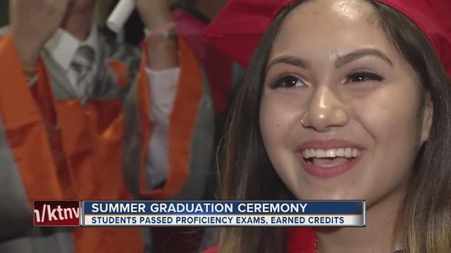 CCSD summer graduates fill Orleans Arena