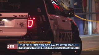 3 suspected in Roberto's robbery