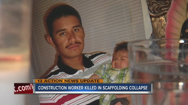 Victim's family speaks on scaffolding collapse