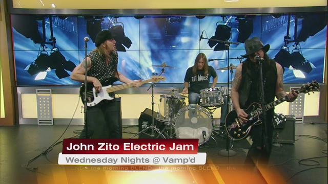 Weekly Jam With The John Zito Band 8/23/16