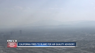 Air quality advisory in Las Vegas valley