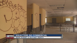 SQUATTERS: Hiding in old business?