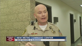 New LVMPD command post opening Monday