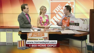 Upgrade Your Kitchen With Home Depot 8/24/16