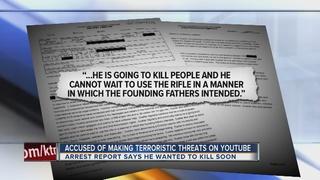 Man accused of making terror threats captured