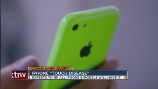 'Touch disease' causing iPhones to have problems