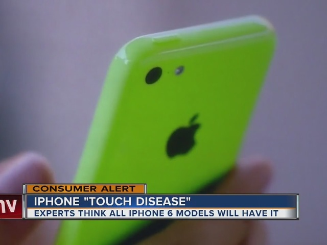 iPhone touch disease?