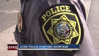CONTACT 13: CCSD police shortage safety concerns