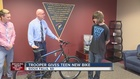 South Dakota troopers buy bike for young man