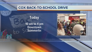 Final Cox Back to School Fair Saturday