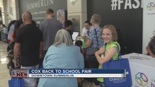 Food, immunizations at Cox Back-to-School Fair