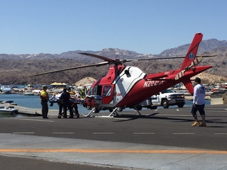 2 hurt in tubing incident on Lake Mohave