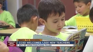 CCSD addresses teacher shortage