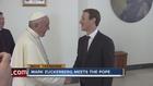Mark Zuckerberg visits Pope Francis