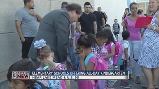 Schools offering full-day kindergarten classes