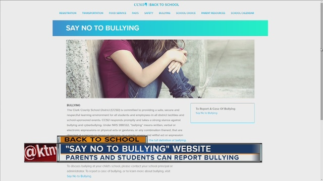 Website created to anonymously report bullying