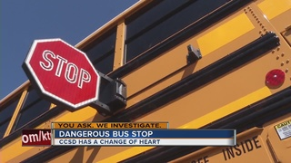 UPDATE: Bus stop in Henderson permanently moved