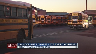 Buses running late cause students to miss school