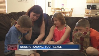 CONTACT 13: Be sure you understand your lease