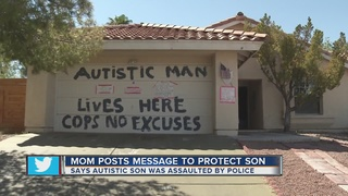 Mother aims to protect autistic son with signs