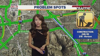 TRAFFIC TROUBLES: Henderson construction