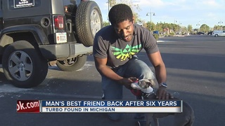 Veteran reunited with dog after 6 years