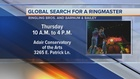 Global search for ringmaster stops in Las Vegas