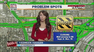 TRAFFIC TROUBLES: More Project Neon closures